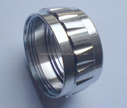 Stainless steel female threaded pipe bush,machining parts,cnc parts