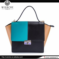 Wishche Waterproof Indian Buyer Client Leather Bag For Women W065