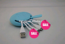 4 in 1 Portable Multiple usb data cable