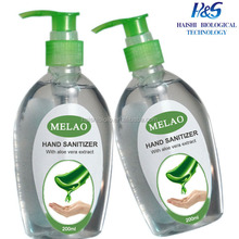 Natural hand sanitizer gel/wholesale bulk antibacterial waterless fragrance brands sanitize Natural hand sanitizer gel
