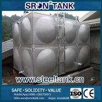 hot-dipped galvanized pressed steel water tank Whole Tank System SRON customize design your tanks