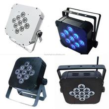 new products lighting par led/New 9*3W RGB 3IN1 Multi-color Cheap LED Par IP33 9*3w white white led flat par