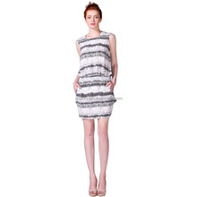 direct china factory latest OEM clothing fashion new dress design for women