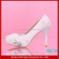 WS-019 High heel bridal shoe bridal wedding shoes