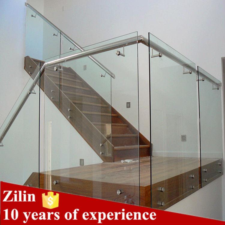 Balustrade pour mall garde corps en verre sans cadre for Balustrade en verre exterieur