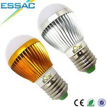 led manufacturer in china high quality energy saving bulb E27 3w 5w warm white aluminum led light bulb