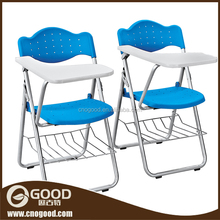plastic school desk and chair with metal legs folding adjustable easy chair