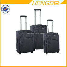 Super quality factory direct wheeled 2015 luggage travel set