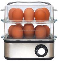 egg boiler with mini steamer/chicken egg boiler