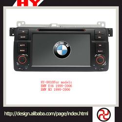 Hapyu shenzhen Hot selling custom car dvd 2 din for BMW E46/M3