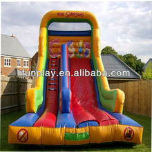 HI top quality inflatable slip and slide