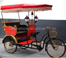 CE Holland bakfiets family 3 wheel cargo electric cycle rickshaw tricycle with cabin box