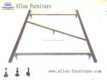 metal bed frame with center support 5 legs Full