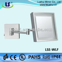 high quality hotel bathroom shaving side view mirror glass only