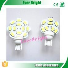 12v Led Lamps 194 168 5730 12SMD 12 LED Lamp Auto Led T10 Lamp led white light bulbs LED Interior Reading Lights T10 Car Led