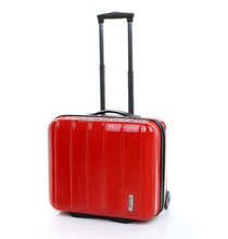 BUBULE``100% PC classical design computer bag rolling laptop bag business bag