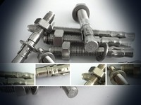 Stainless steel/carbon steel throught bolt with nut ang washer