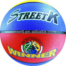 New arrival promotional ball basketball high quality rubber