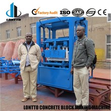 LMT4-28 Hot Sale Brick Machine Cement Brick Making Machine for Small Business In Africa