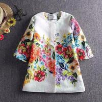 hot selling model in European vintage children clothing wholesale for baby girls