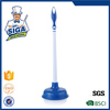 Mr. SIGA 2015 Hot Sale Easy PVC Toilet Plunger Plastic Toilet Plunger with long handle