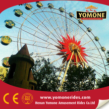 Children activities outdoor funfair amusement rides gaint ferris wheel for sale