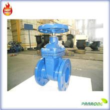 soft seal non-rising stem cast iron flange gate valve