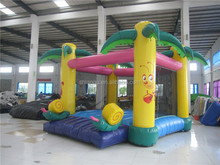 Tropical Inflatable Cheap Bouncy Castles for Sale