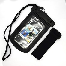 china fashion mobile phone diving case waterproof bag/waterproof dry case/pvc fashion waterproof bags