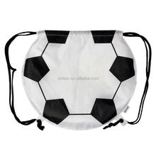Latest Design White Drawstring Bags Sport Soccer Ball Bag