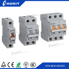 ISO9001 Free Sample China Manufacturer 240V/415V 1-63A Miniature Circuit Breaker 2Pole MCB