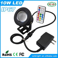 10w led unique outdoor christmas underwater pool lights