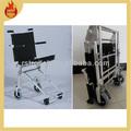 2015 aeroespacial de ligas de alumínio cadeira de rodas dobrável para o aeroporto