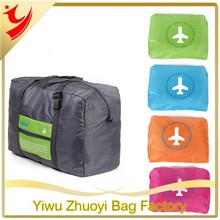 Airport Luggage Popular Foldable Storage Bags, Waterproof and Fashion Style