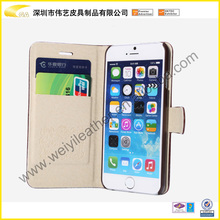 Mobile Phone Case Card Holder Wallet For IPhone Fashion Hot Selling Custom Top Quality Leather Cell Phone Case For Iphone 6