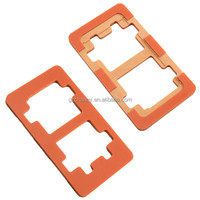 Hot Sale Refurbishment Glueing Phone Lcd Outer Glass Lens Touch Screen Plastic Mold For Repair Tools for Samsung Galaxy S5 I9600