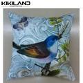 sofá de madeira do papagaio decoração impressa almofada atacado para sofa