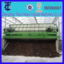 Compost poultry manure turning machine with factory price