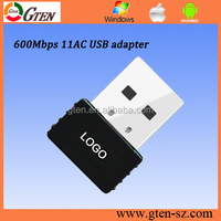 600mbps RTL8818 chipset 11AC atheros ar9271 usb wireless adapter 2.4G and 5G