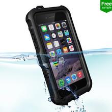 ZVE waterproof Case for iPhone6, TPU Shockproof Cover Case for iPhone 6 4.7 Waterproof Free sample