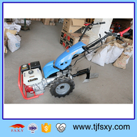 Professional Hand Push Small Tiller Rotovator with Hiller