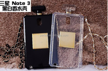 Luxury Perfume Bottle Case For Samsung Galaxy S3 S4 S5 Note4 2 3 i9500 i9600 N7100 CC Phone Case Cover