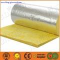 de aluminio de lana de vidrio para el aislamiento térmico