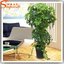 2015 manufacturing artificial cheap decorative metal plants and trees for home hotel office