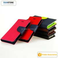 Crossing textured flip wallet case for iphone 6,for iphone 6 leather case