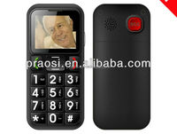 3G WCDMA elderly big button sos mobile phone