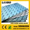 Anti noise self-adhesive aluminum butyl car sound insulation materials