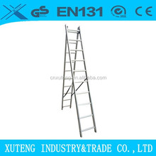 Aluminum 2 section ladders extendable