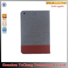 hot selling for ipad 2 case cover for 9.7 inch tablet with canvas