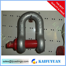Stainless Steel Dee Shackle Marine Rigging Hardware